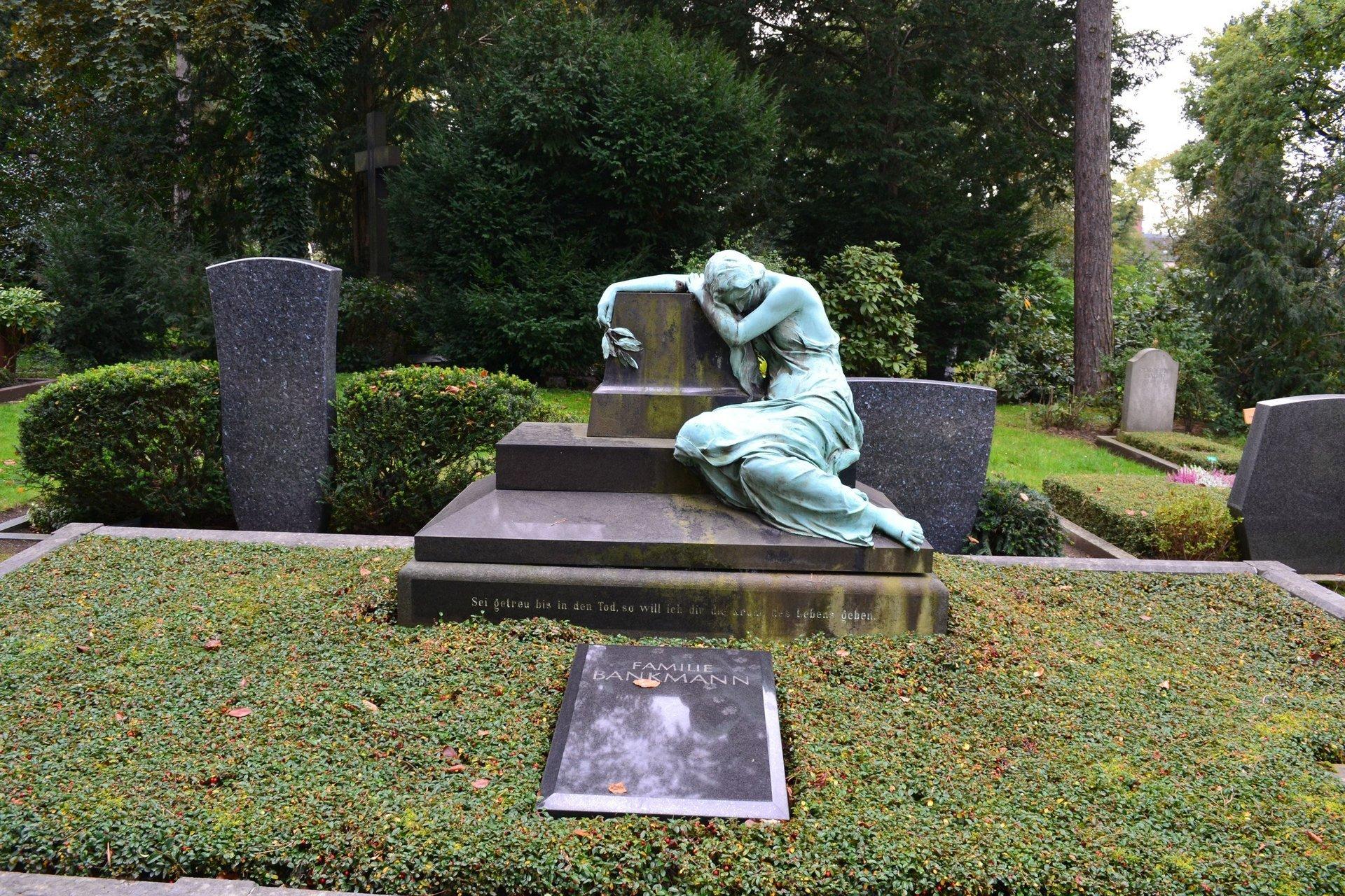 кладбище Дюссельдорфа Nordfriedhof
