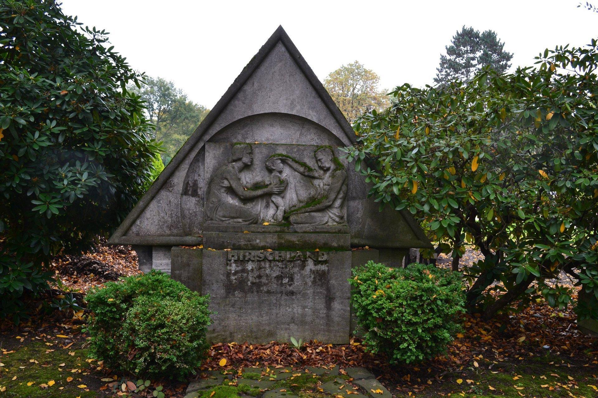 Северное кладбище Дюссельдорфа Нордфридхоф