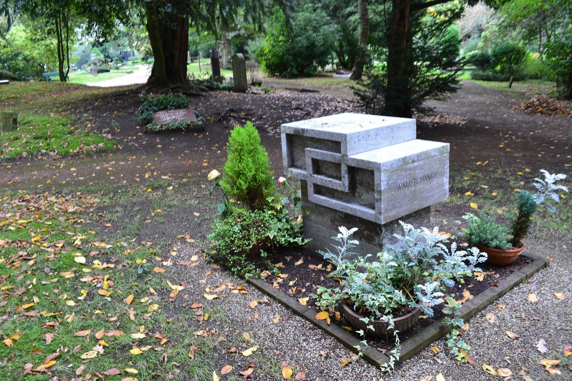 кладбище Дюссельдорфа