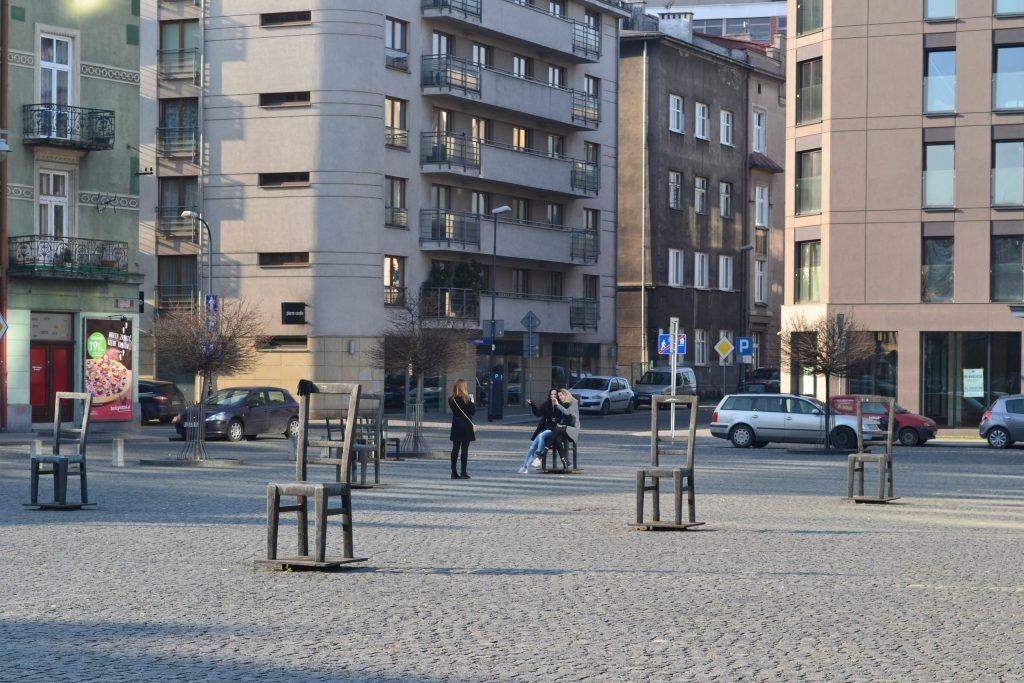 Краковское гетто мемориал память