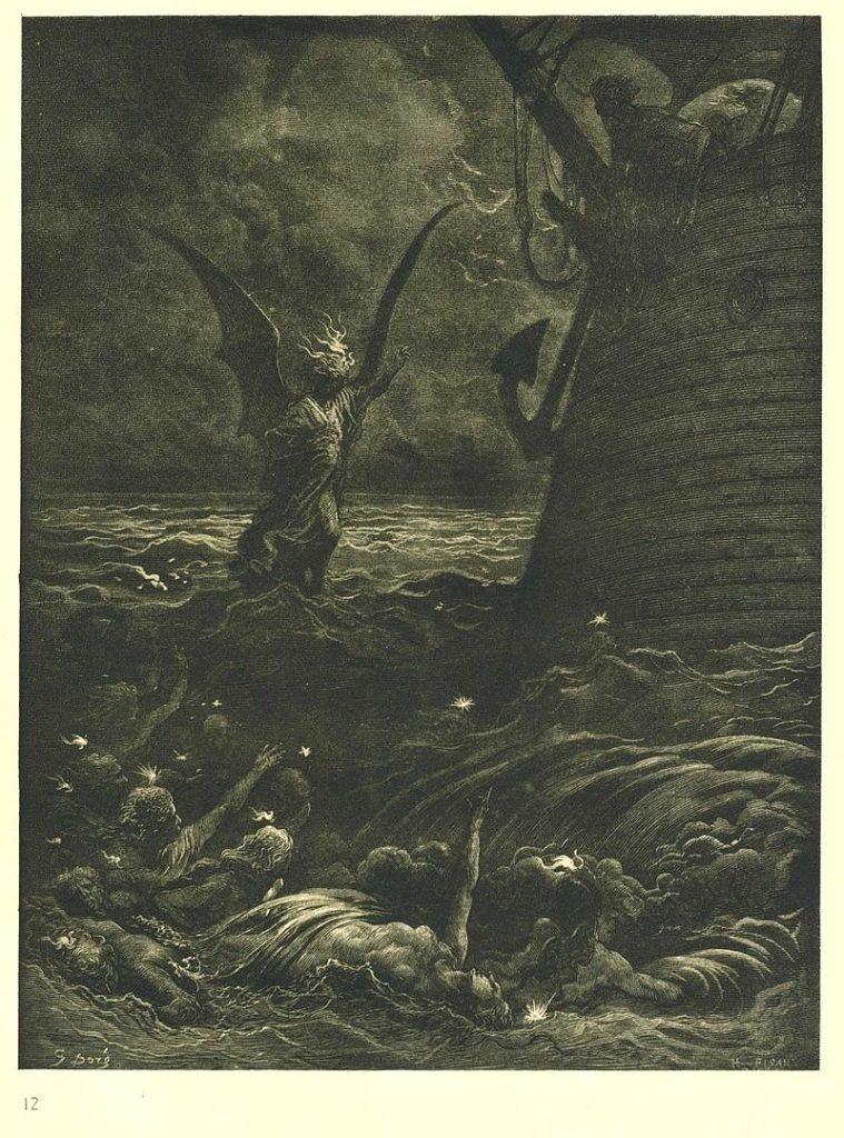Поэма о старом моряке Доре иллюстрации