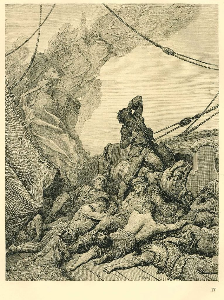 Поэма о старом моряке Гюстав Доре
