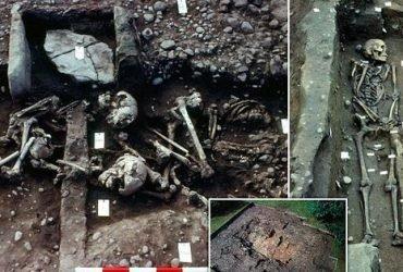 Найдена братская могила викингов