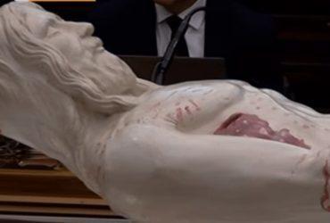 Тело Христа воссоздали по савану
