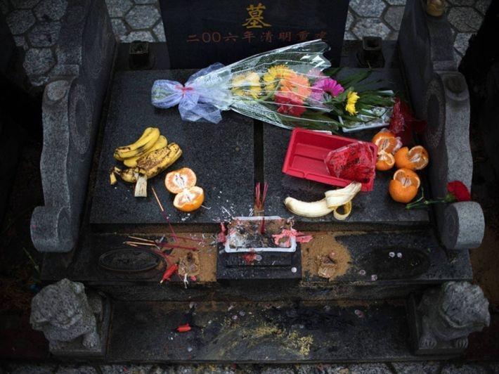 украшение могил китай
