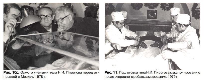 мумия николая пирогова