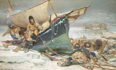 Умирающий экипаж экспедиции Джона Франклина