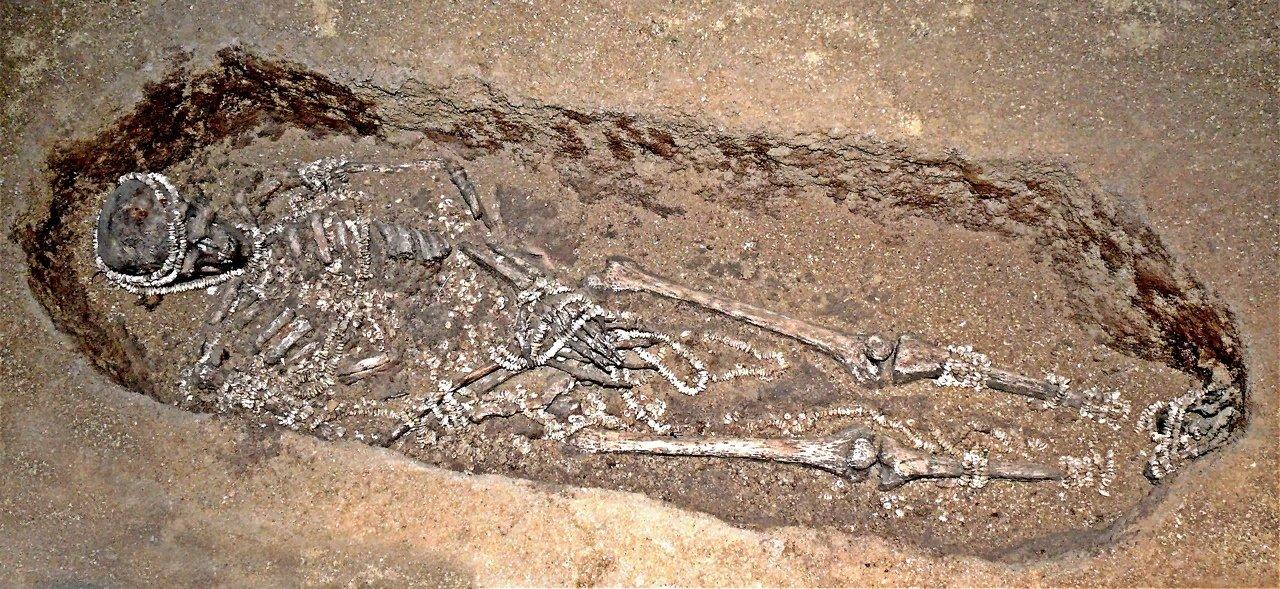 Верхнепалеолитическая стоянка Сунгирь