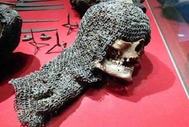 700-летние черепа шведских солдат