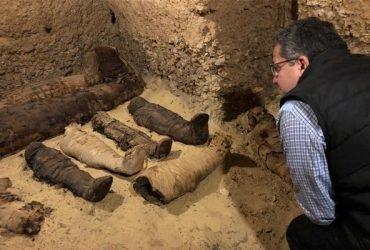 В Египте обнаружили гробницу c десятками мумий