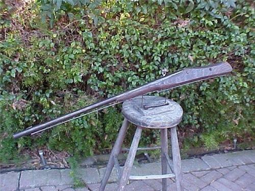 кладбищенское ружье от мародеров