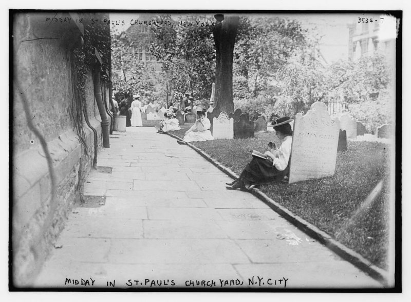 Lower Manhattan cemetery