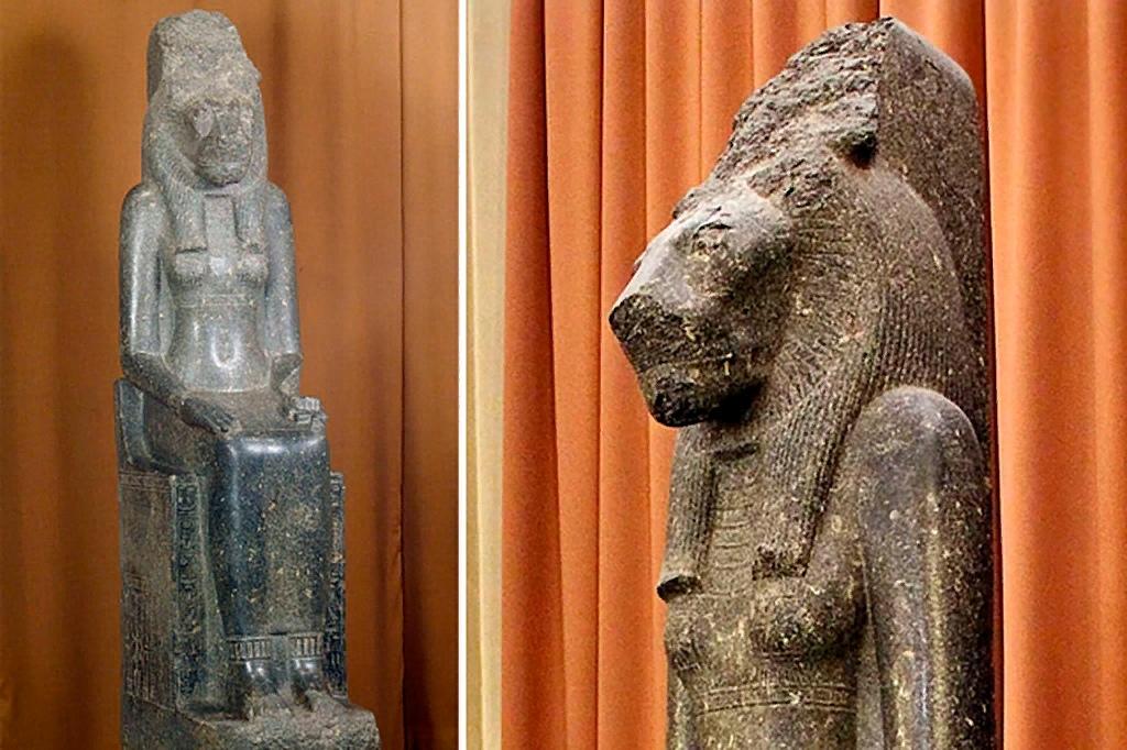 Богиня Мут-Сохмет