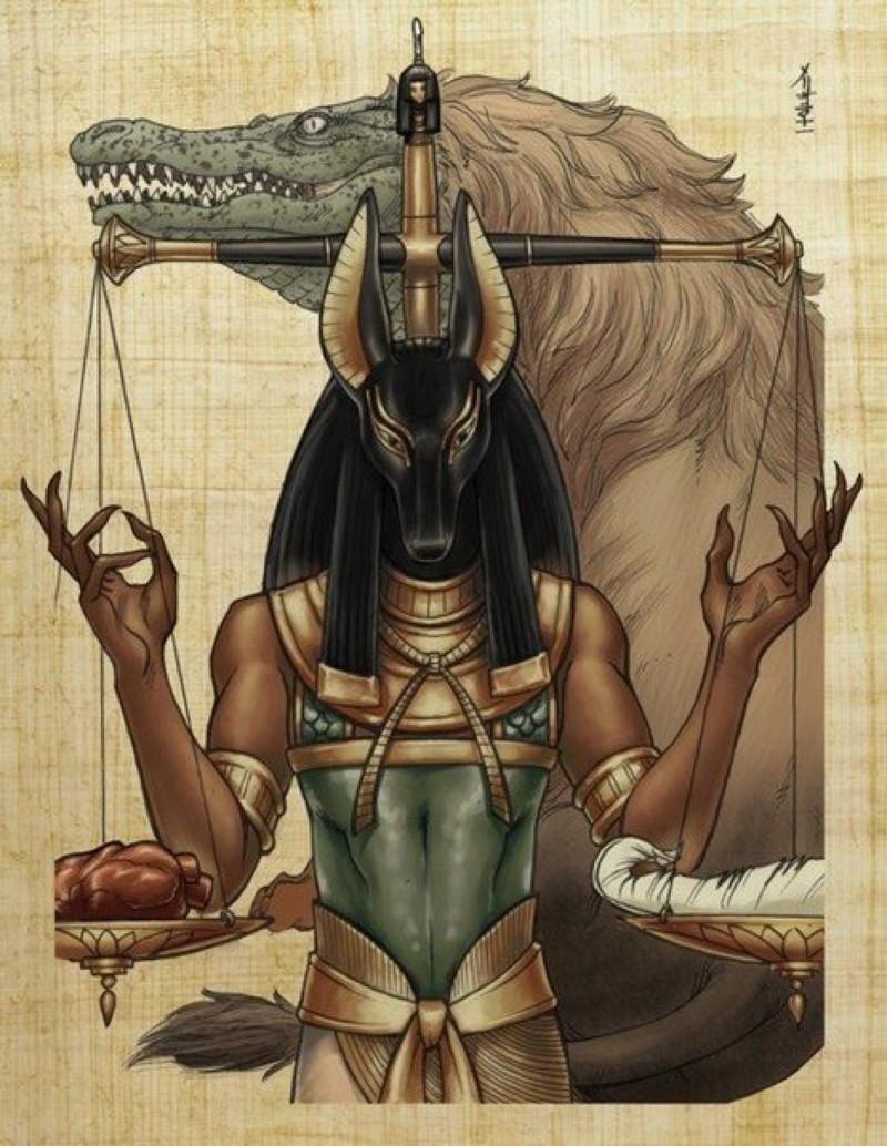 Загробные миры египет