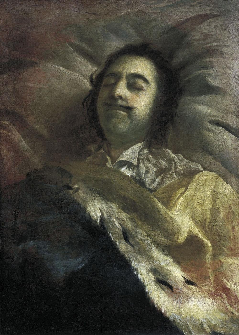 И.Н. Никитин. Петр I на смертном ложе