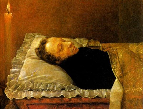 Козлов Пушкин на смертном одре
