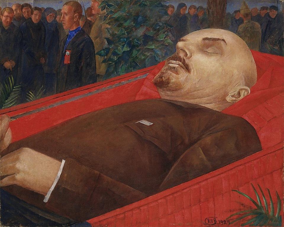 Петров-Водкин. У гроба Ленина