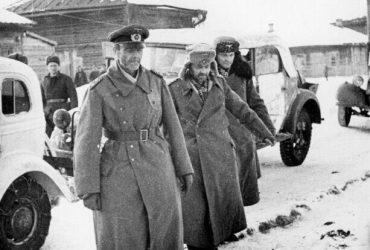 Фельдмаршал Паулюс в советском плену